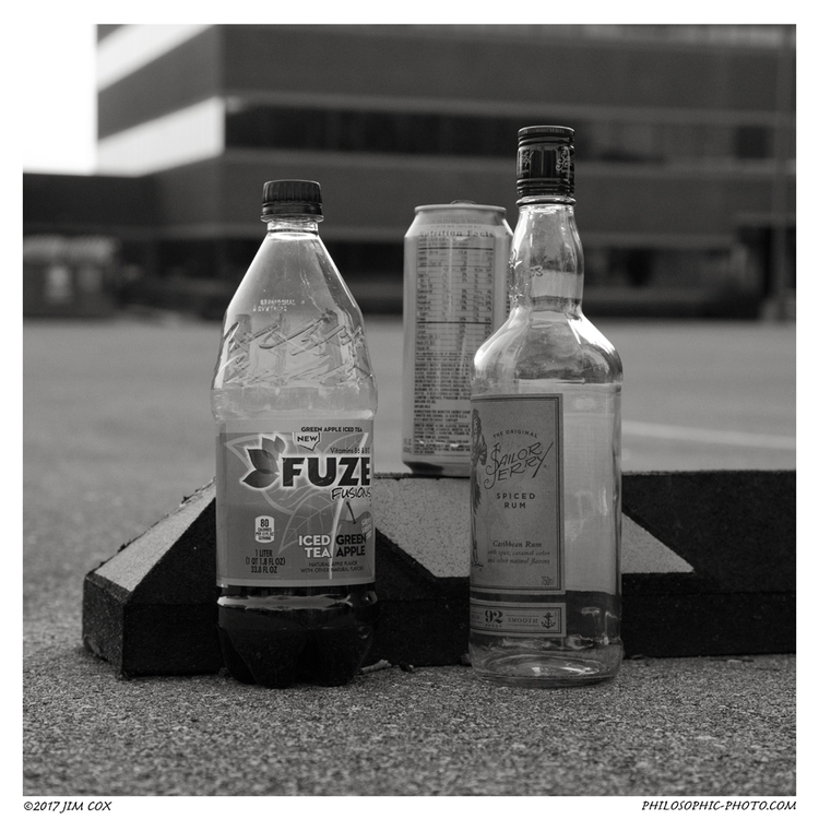 Parking Lot Mini Bar - streetphotography - jascox | ello