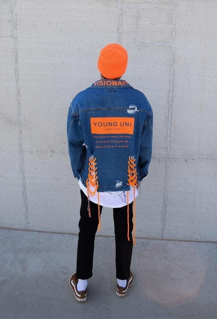 Orange glad.. give - younguni   ello