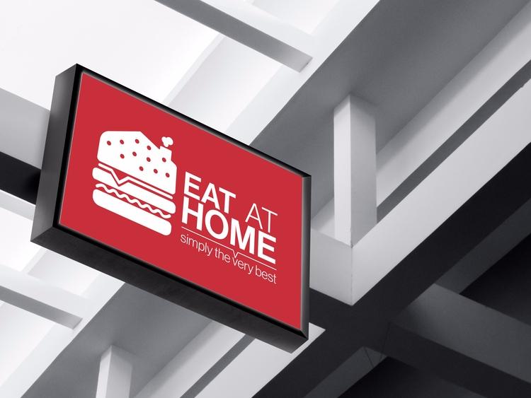 Eat Home branding (Outdoor sign - sinterclaas | ello