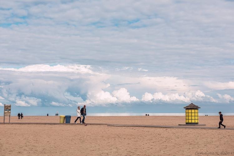 Calme à Ouistreham - seaside, ocean - christophen | ello