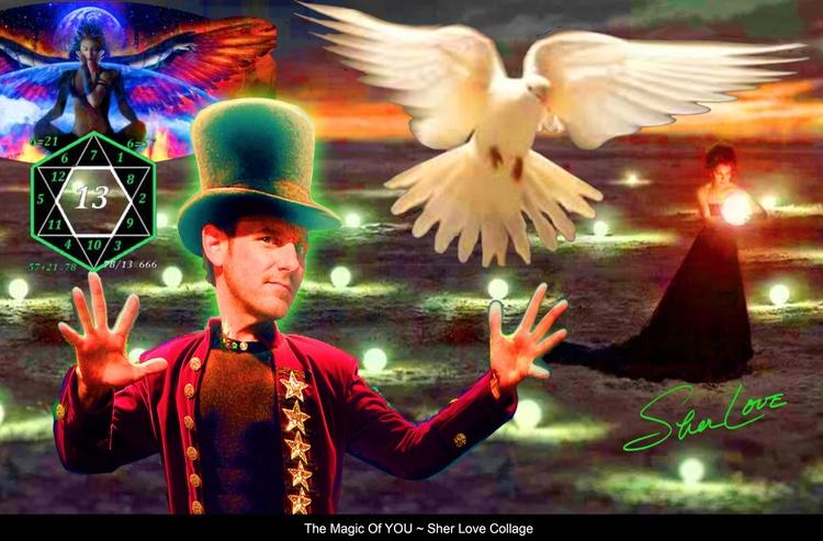 Magic ~ Sher Love Collage - SherLove - sherlove | ello