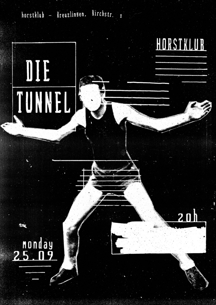 poster Die Tunnel, playing Hors - jeromebizien | ello