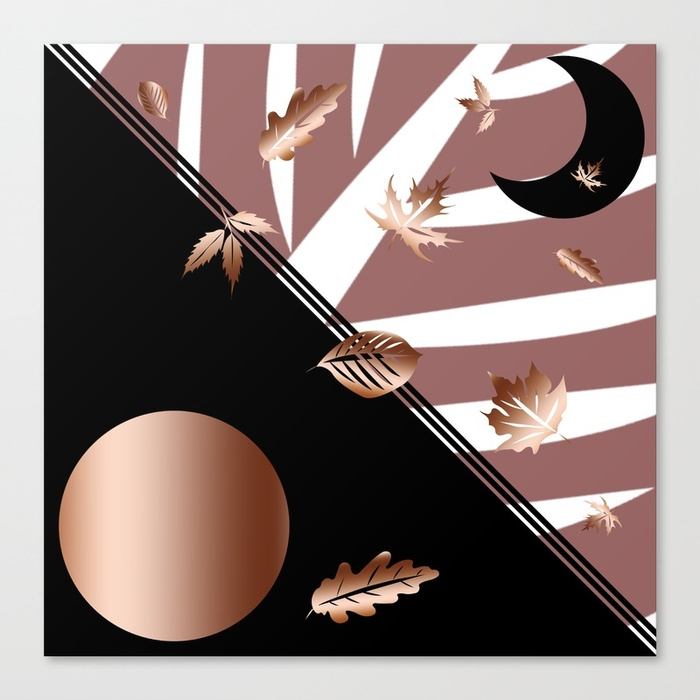 arts, leaves, moon, leaf, autumn - miideegrafiche | ello
