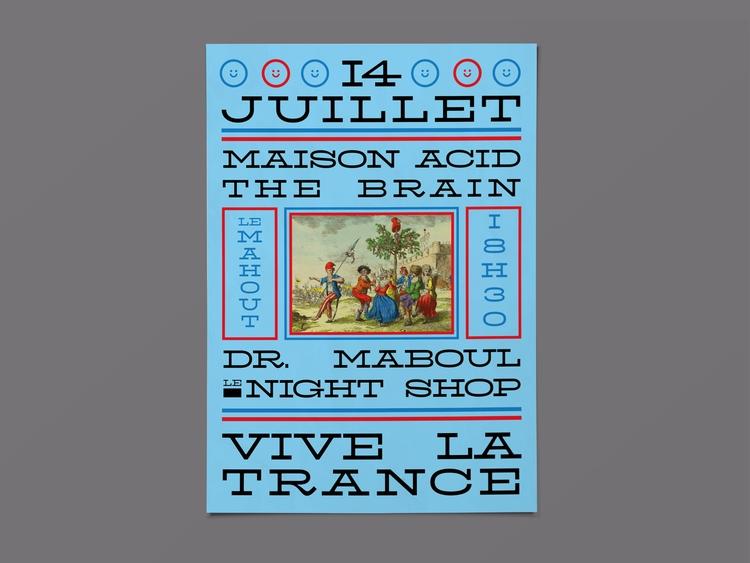 Poster Maison party National da - molonom | ello