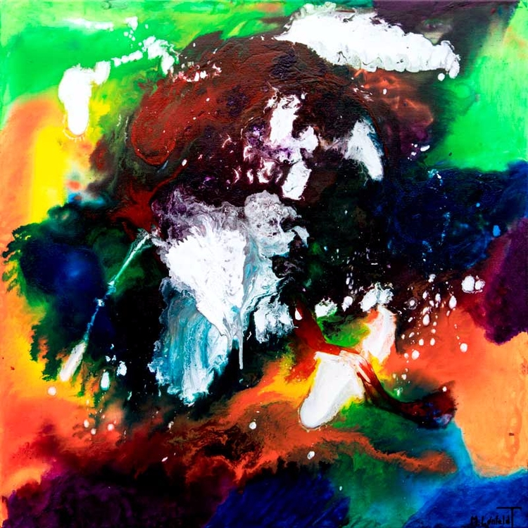 Infinity II Abstract painting A - artbylonfeldt | ello