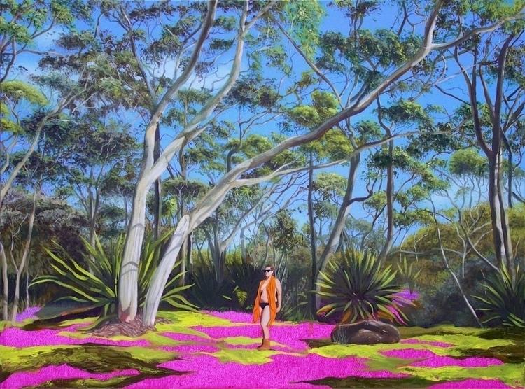 landscape! 'Beck Bush', oil acr - carlosbob | ello