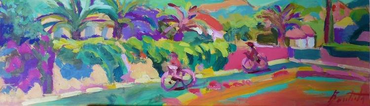 artwork week paint acrilic wood - josebautista | ello