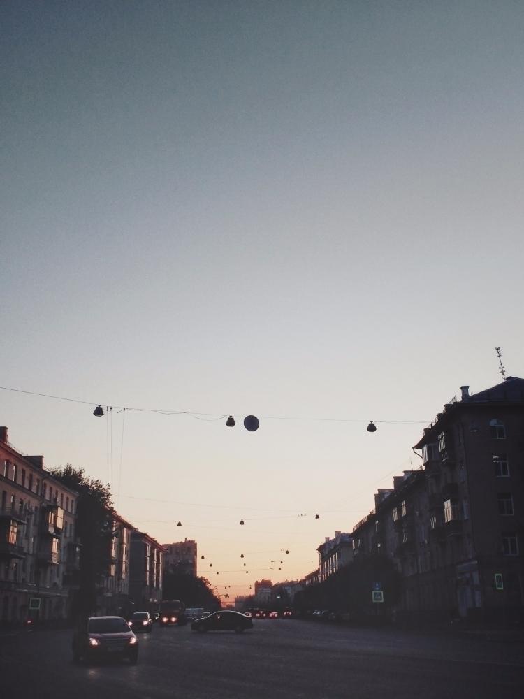 Evening prospect urban view str - andreigrigorev | ello