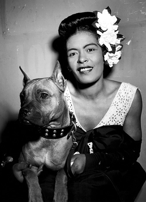 Billie Holiday dog Mister, 1947 - arthurboehm | ello
