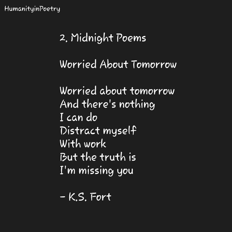 Link Poem, Worried Tomorrow - poetry - humanityinpoetry | ello