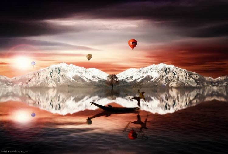 heaven - photoshop, manipulation - muhammadhassan_mh | ello