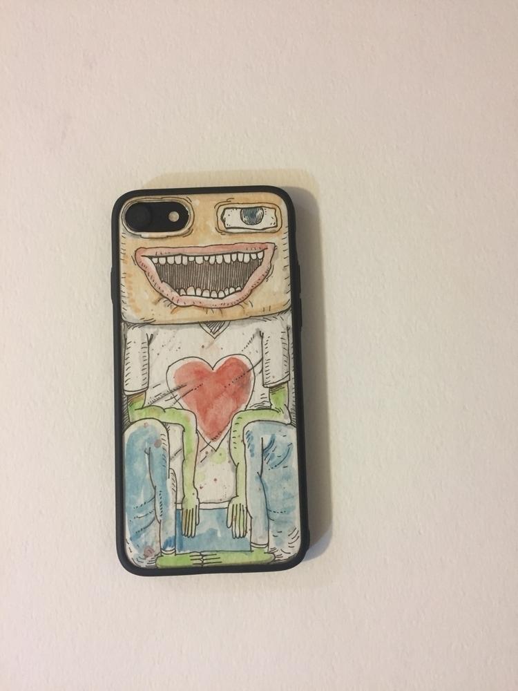 Iphone case / Ink watercolor - doodling - babakesmaeli | ello