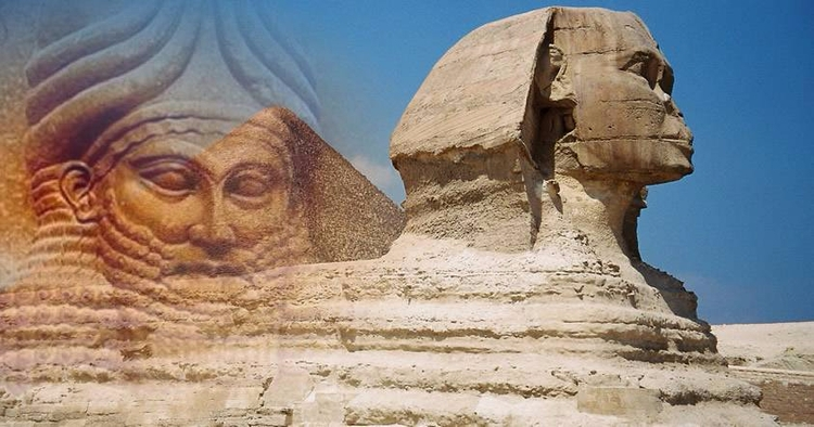 ¿Es la Gran Esfinge de Giza una - codigooculto | ello