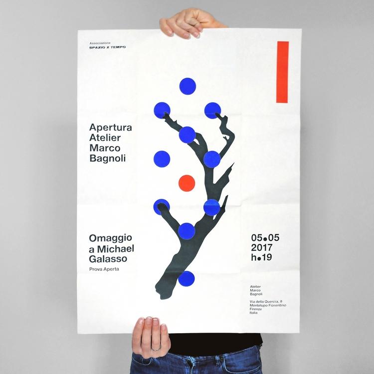 poster designed Auge Design ope - riccardosabatini | ello