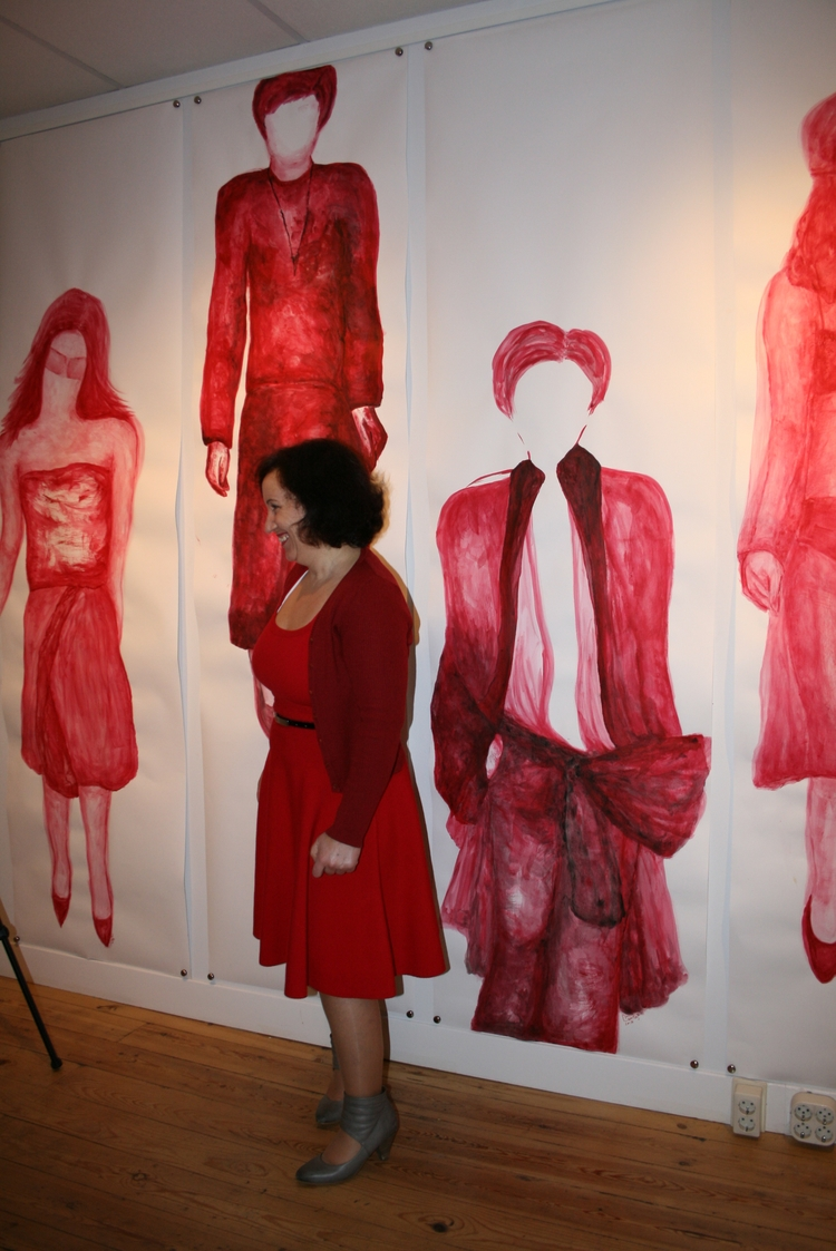 Red Women Project Opening Exhib - pauladered | ello