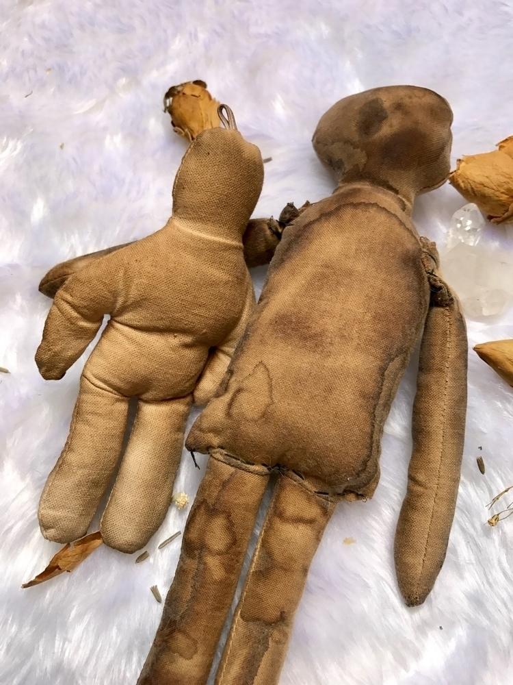 Voodoo dolls dyeing sewing read - thewitchescaravan | ello