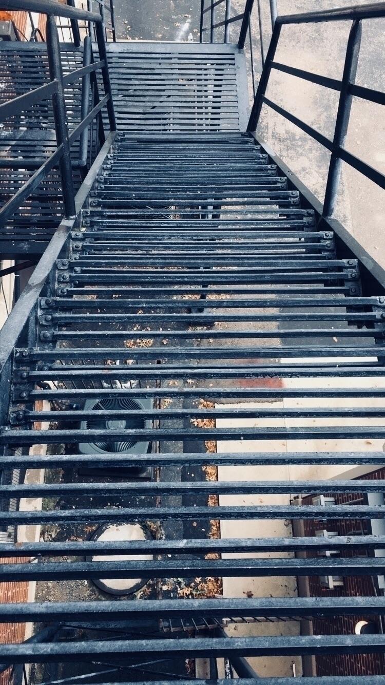 stairs, photography, fall, urban - melissaaanguyen | ello
