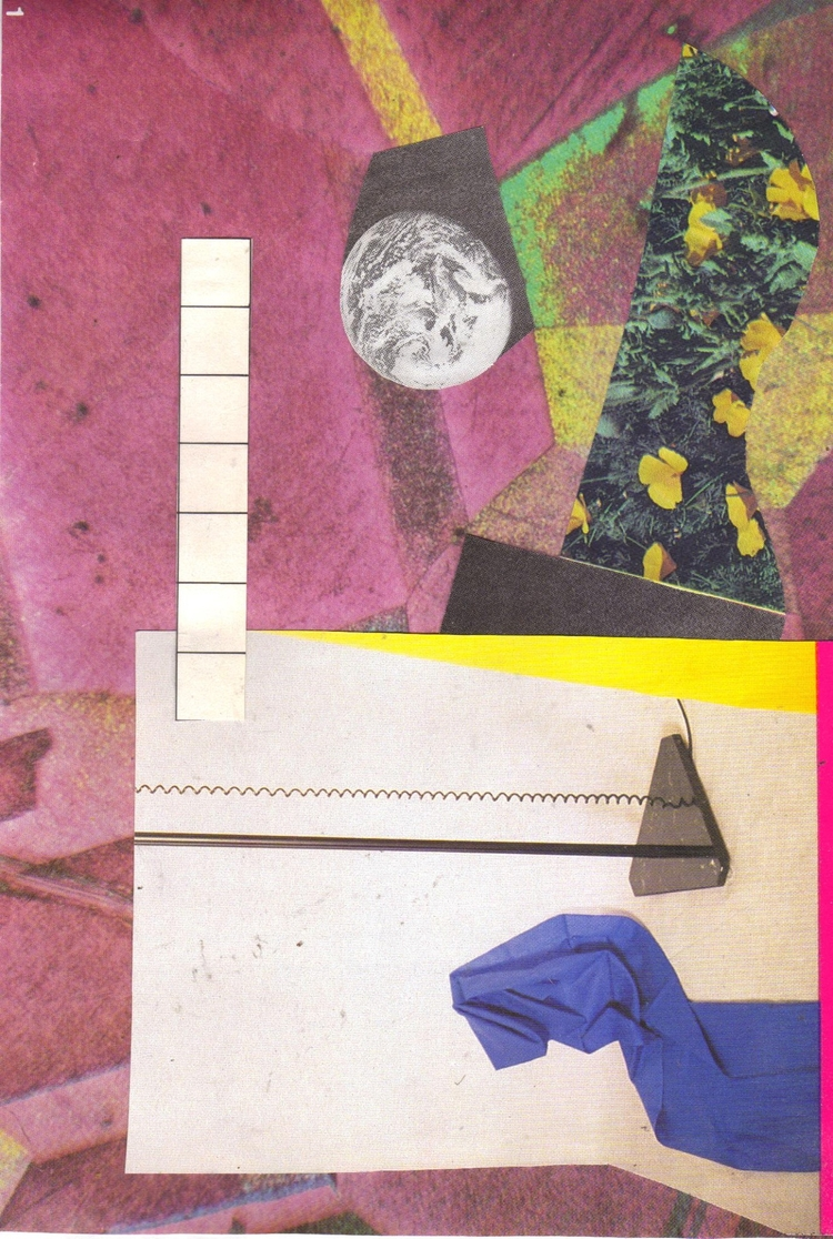 1 - 2017 - collage, handmade, abstract - lacaradenadie | ello