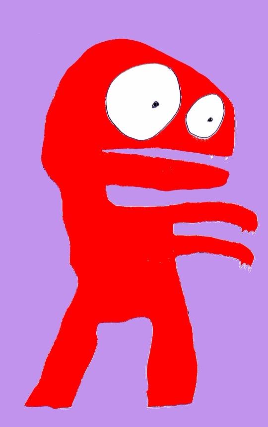 Bright Red Zombie Richard Yates - richardfyates | ello