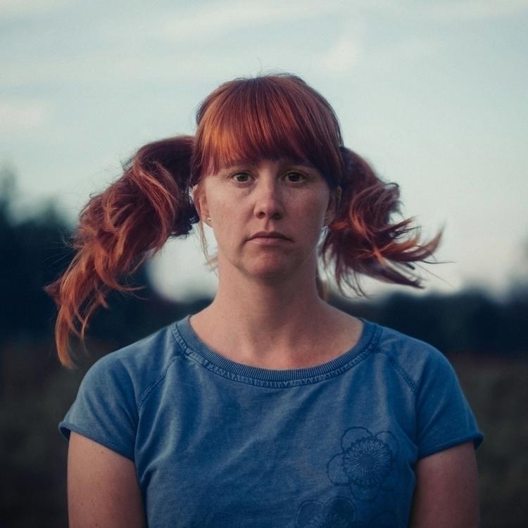 hair party - portrait, color, woman - klaasphoto | ello