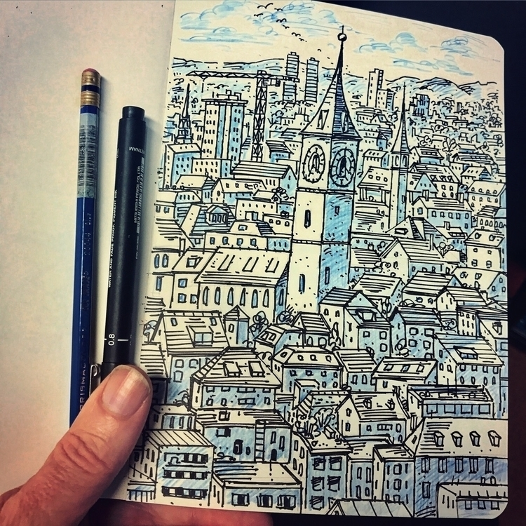 Started Sketchbook - flexbook, drawingonplanes - stevesimpson | ello