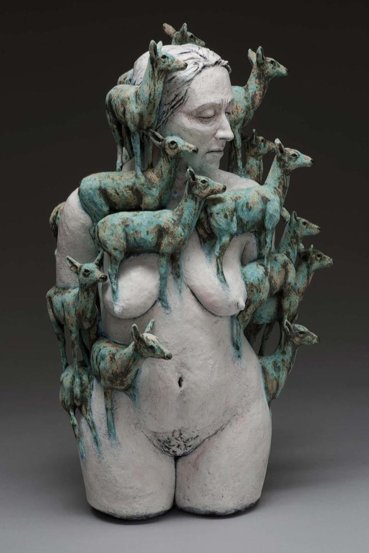 Adrian Arleo heard-1 2016 - sculpture - lilavert | ello