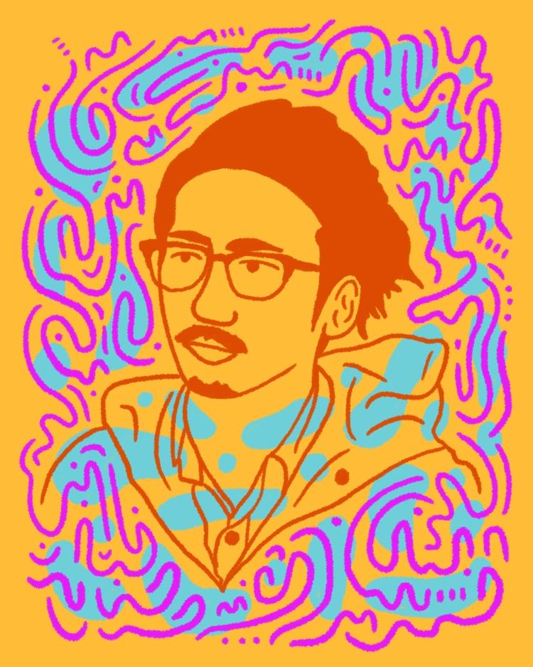 Chill Gaze - illustration, illustrator - heybop   ello