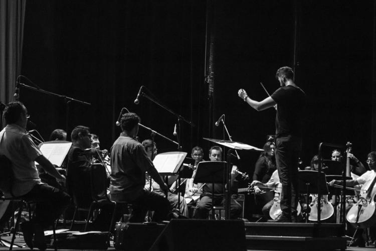 Classical music concert. print  - aleu4 | ello