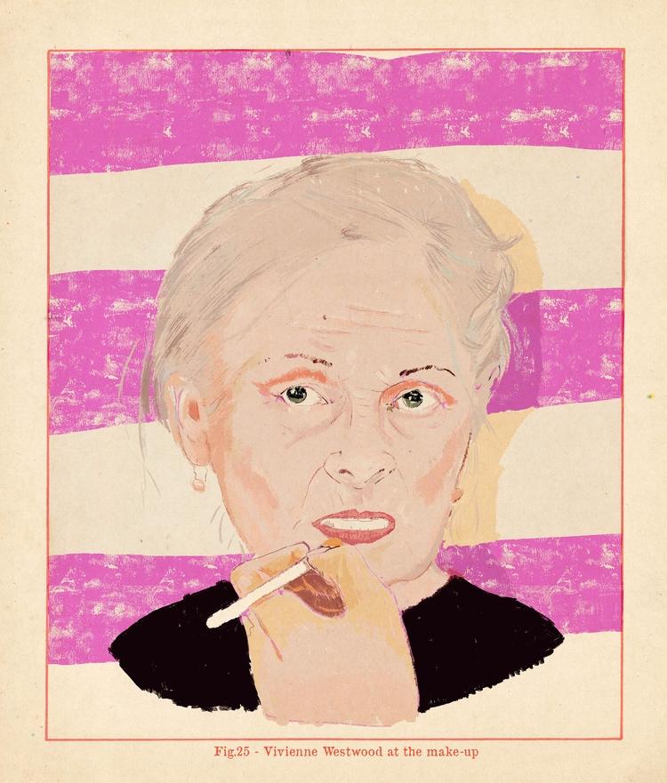 Vivienne Westwood - illustration - zoe_vadim   ello