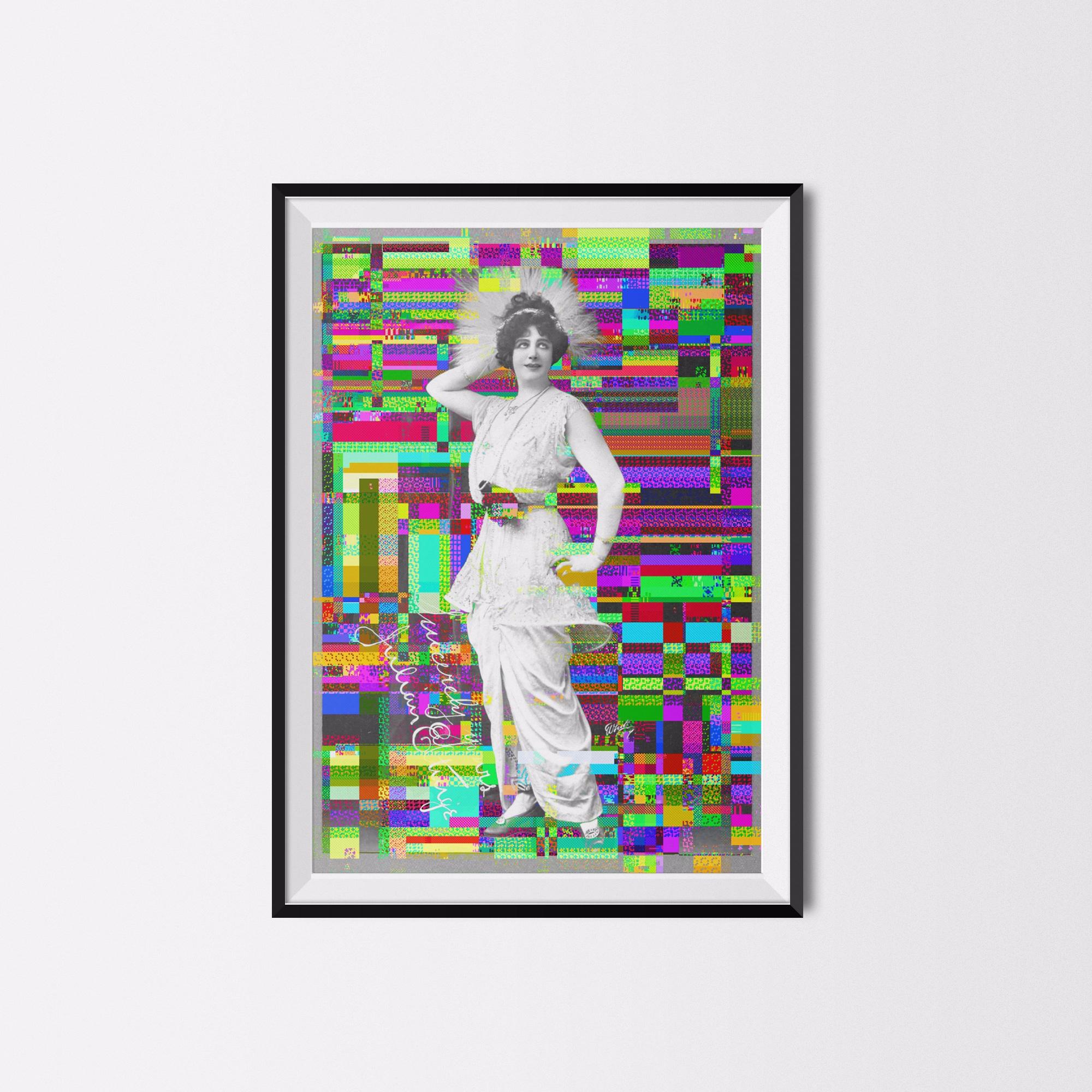 L̨ola Jeane Vitoria (ultraviole - ultraglitch | ello