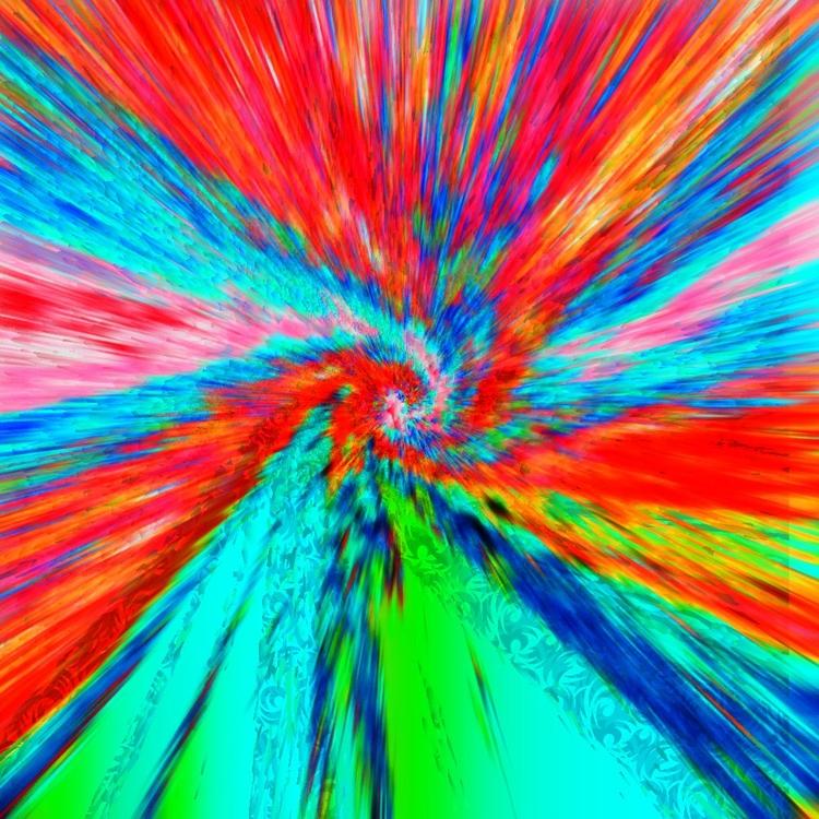 Astre en Technicolor - channelmaroon   ello