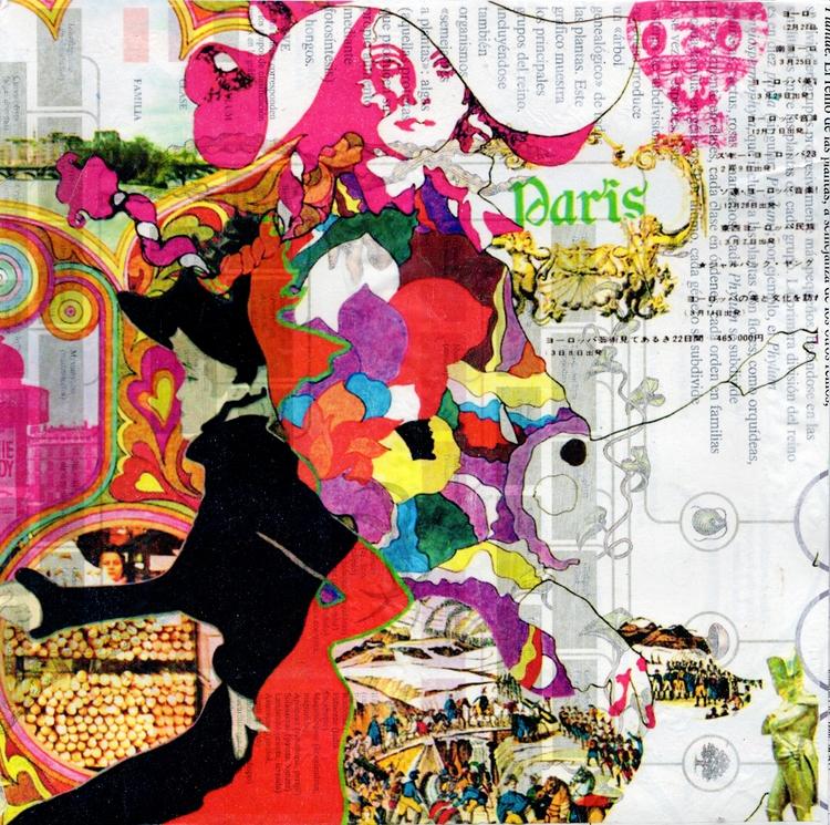 Title: Paris Mixed Media Collag - thomasmuse | ello