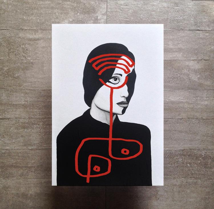 Acrylic giclée print  - zans | ello