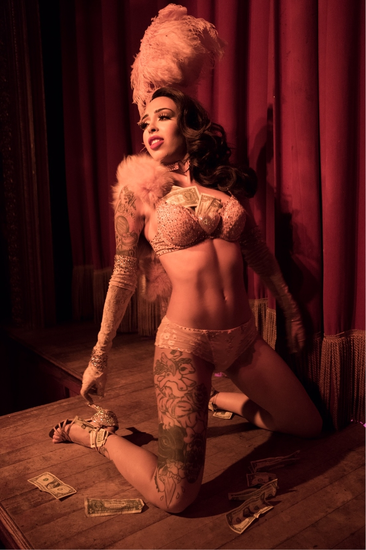 burlesque, nyc, theslipperroom - beaupearce | ello