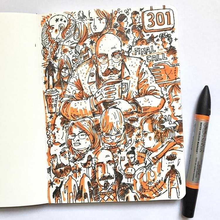 doodley sketching planes  - sketchinginairports - stevesimpson | ello