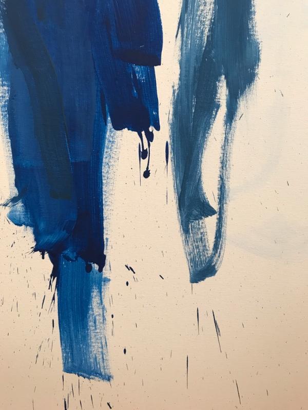 Vent, trickle (2017) Oil canvas - mkgv | ello