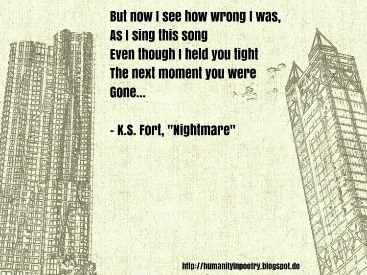 Phoetry Nightmare - poetry, poet - humanityinpoetry | ello