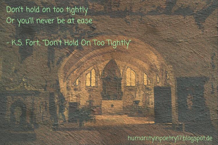 Phoetry Hold Tightly - poetry, poet - humanityinpoetry | ello