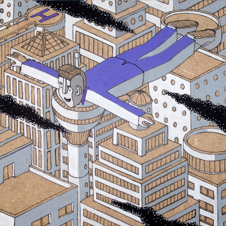 illustration, graphic, isometric - tomrouleau | ello