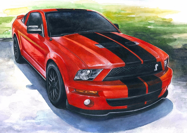 Picture order - mustang, ford, car - rufinaartisr | ello