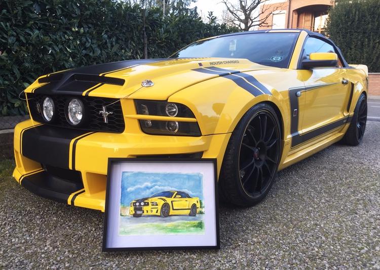 Mustang Roush GT 06 picture Ita - rufinaartisr | ello