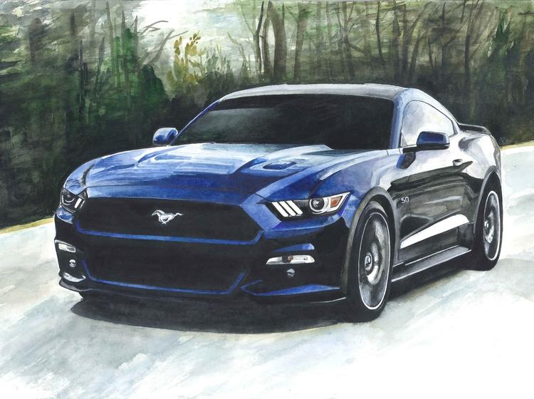 Mustang - ford, fordmustang, mustang - rufinaartisr | ello