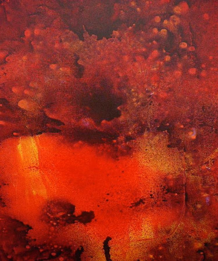 Eruption, Original Abstract Pai - awad-6696   ello