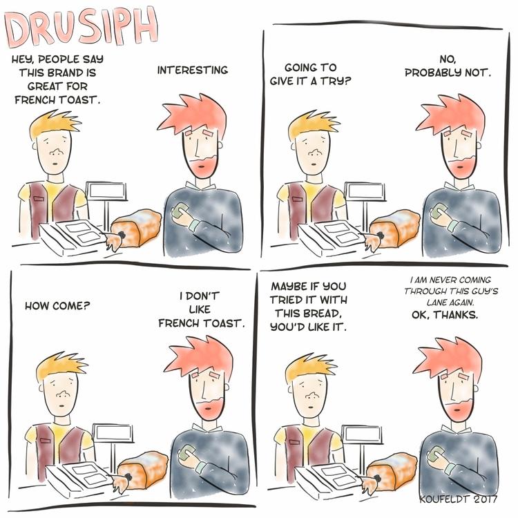 drusiph, friday, weekend, comic - drusiph | ello