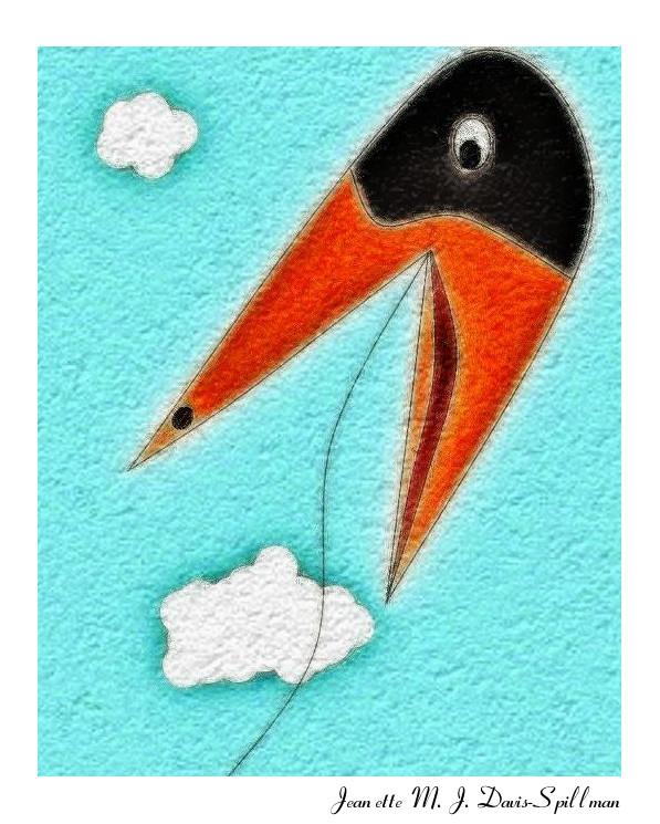 piece titled Flying High time f - jeanettemjdavis-spillman | ello