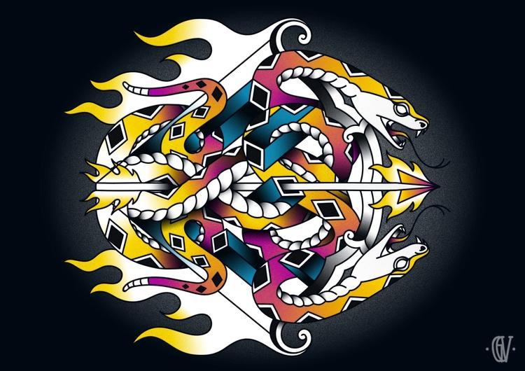 Sagittarius - Fourth Zodiac / 1 - g-c-v | ello