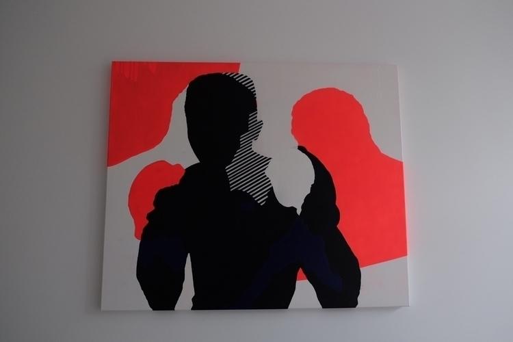 Ali Frazier | painting 120 100  - bramvanhaeren | ello