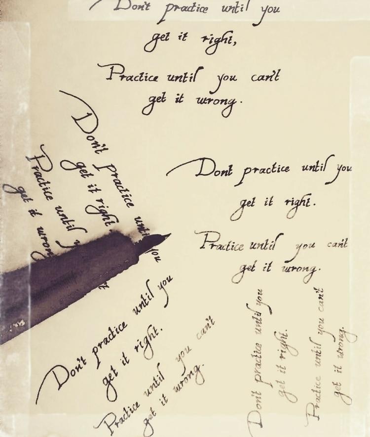 calligraphy, handwritten - ram_rohan | ello