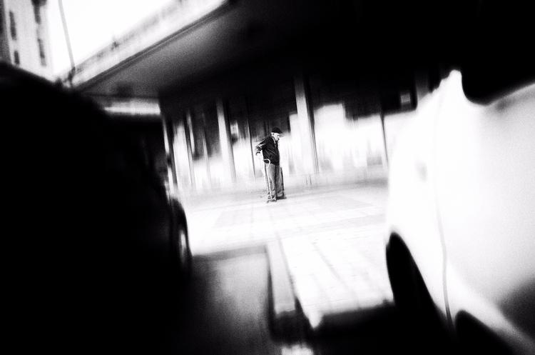 street, photography, bw - elhanans | ello