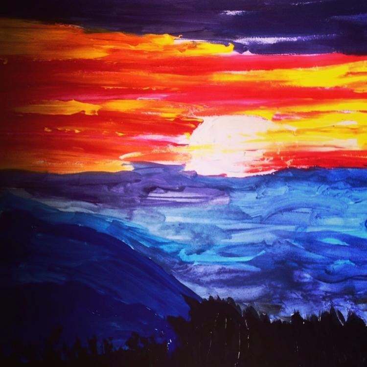love Sunset - loveartwonders | ello